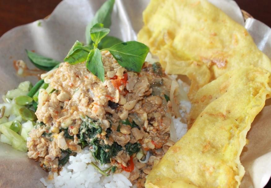 Nasi Pecel Tumpang - Makanan Khas Kediri