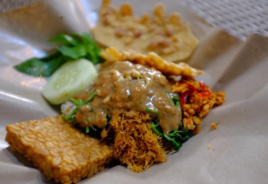 Makanan Khas Malang Pecel Kawi
