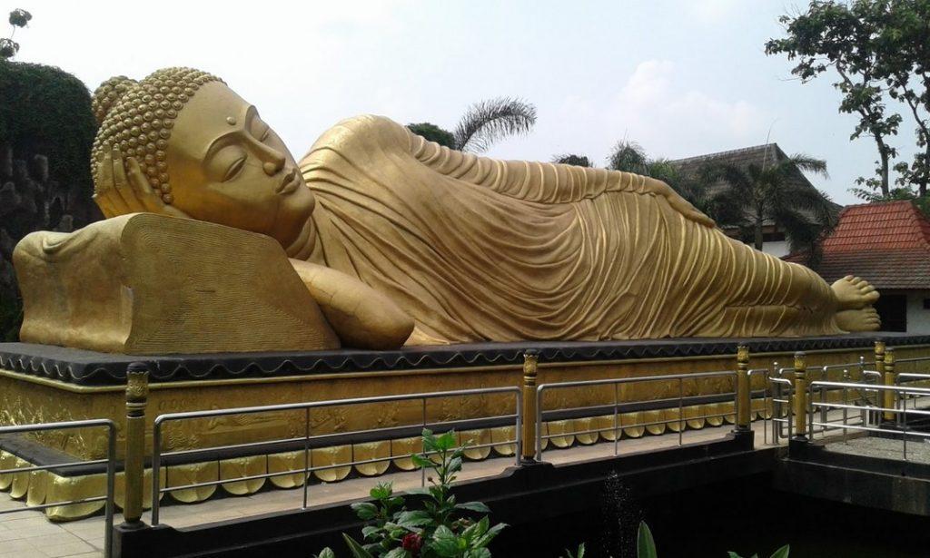 Lokasi Wisata Patung Budha Tidur