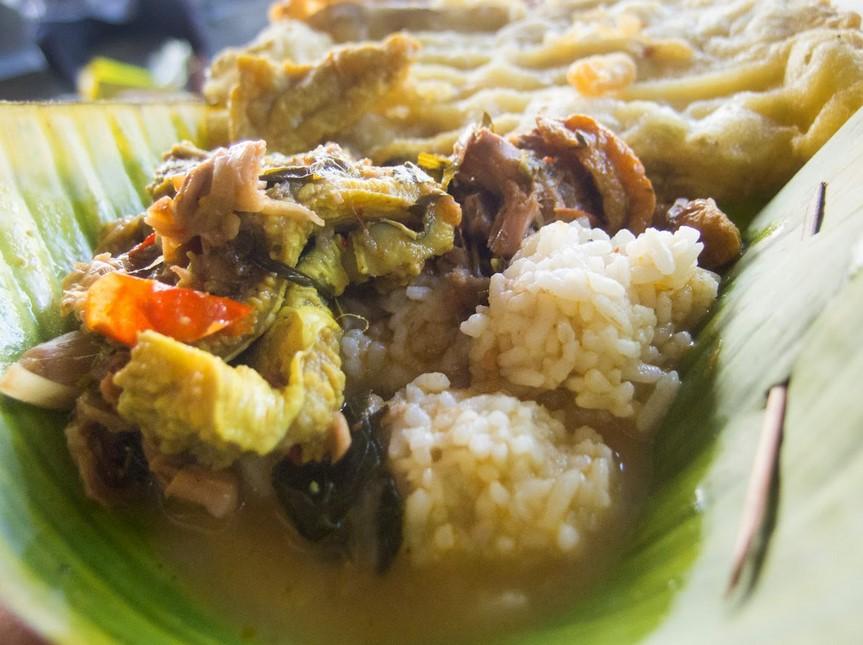 Nasi Penggel Khas Kebumen