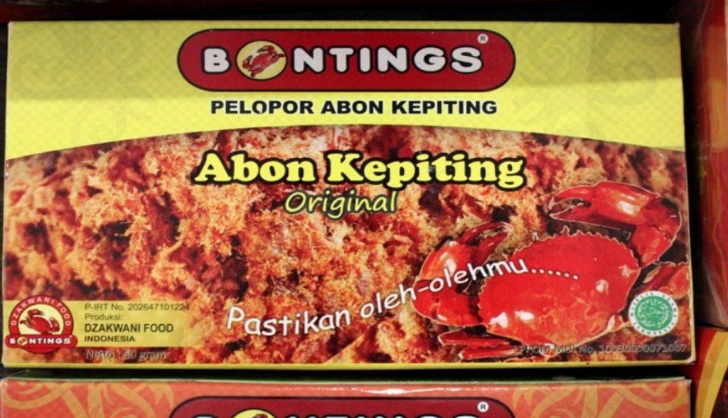 Abon kepiting