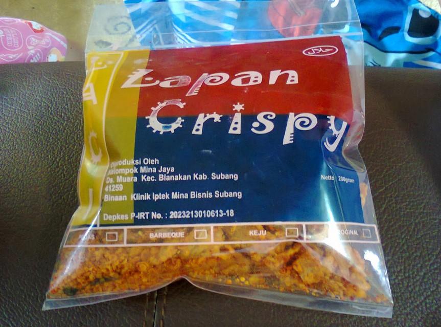 Ikan Lapan Crispy