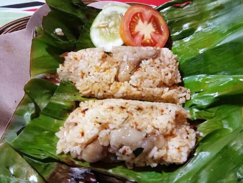 Nasi Bakar Sum-sum
