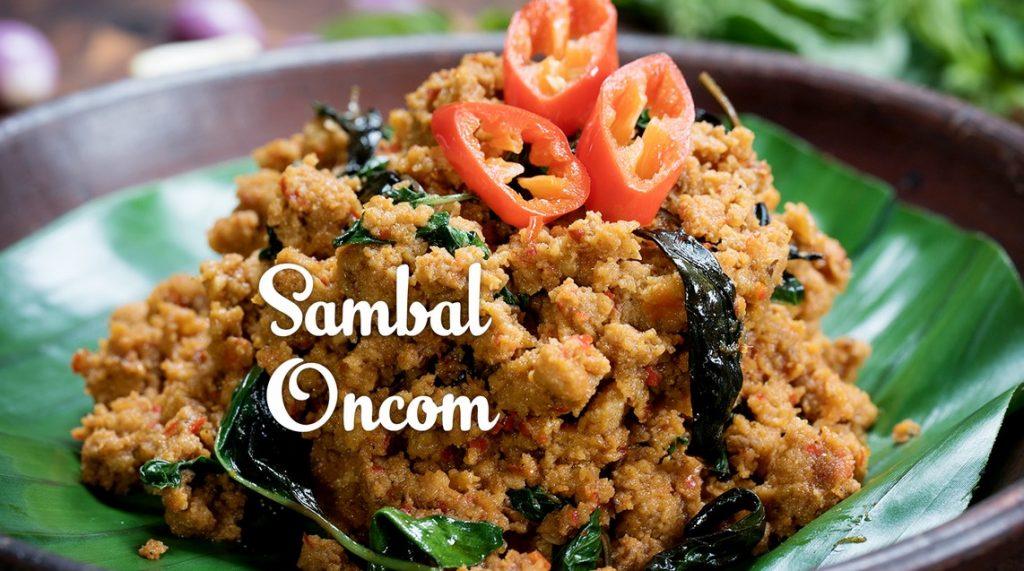 Sambal Oncom
