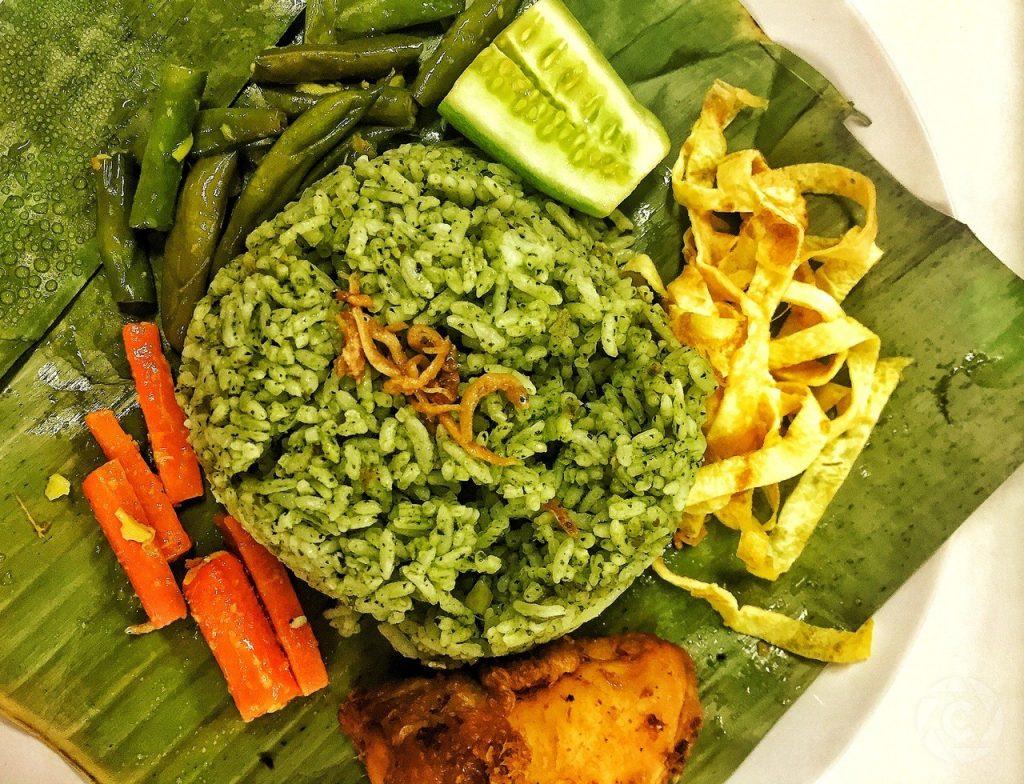 nasi hijau