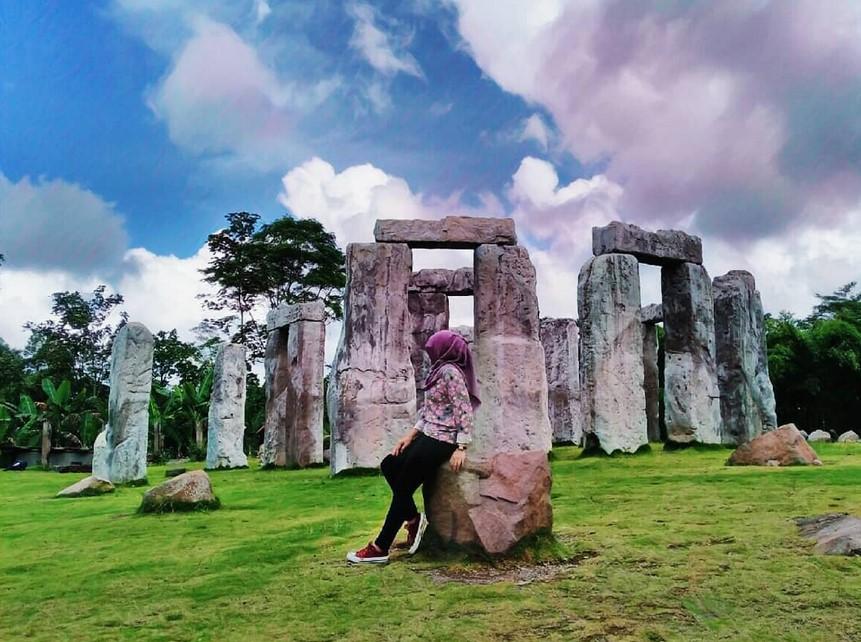 Kondisi Stonehenge Jogja